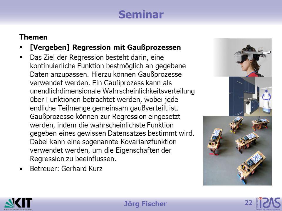 Seminar Themen [Vergeben] Regression mit Gaußprozessen